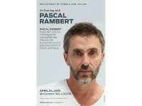 Poster for: An Evening with Pascal Rambert