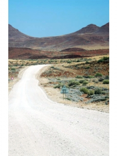 Photo taken by playwright Penda Diouf during her travels in Namibia