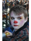 Photo of a child clown