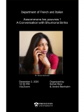 Poster for: Assommons les pauvres ! A Conversation with Shumona Sinha