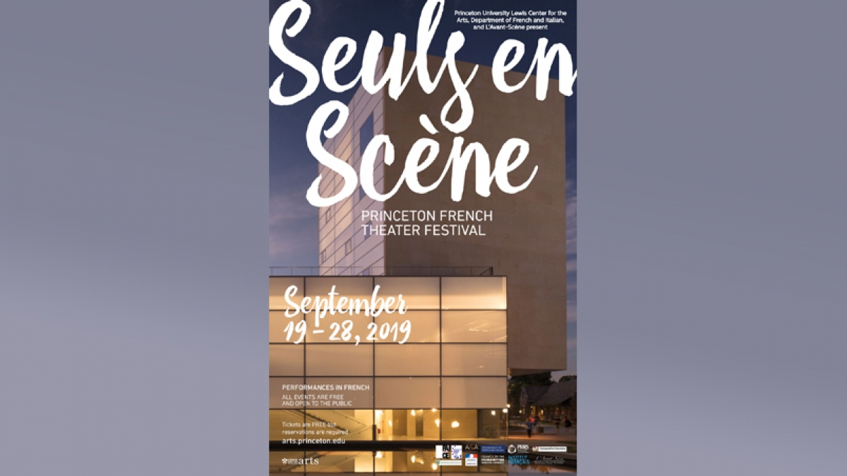 Poster for Seuls en Scène 2019, Lewis Center for the Arts