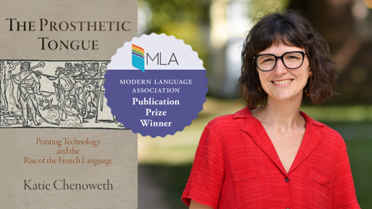 Banner image: Katie Chenoweth awarded an MLA!!