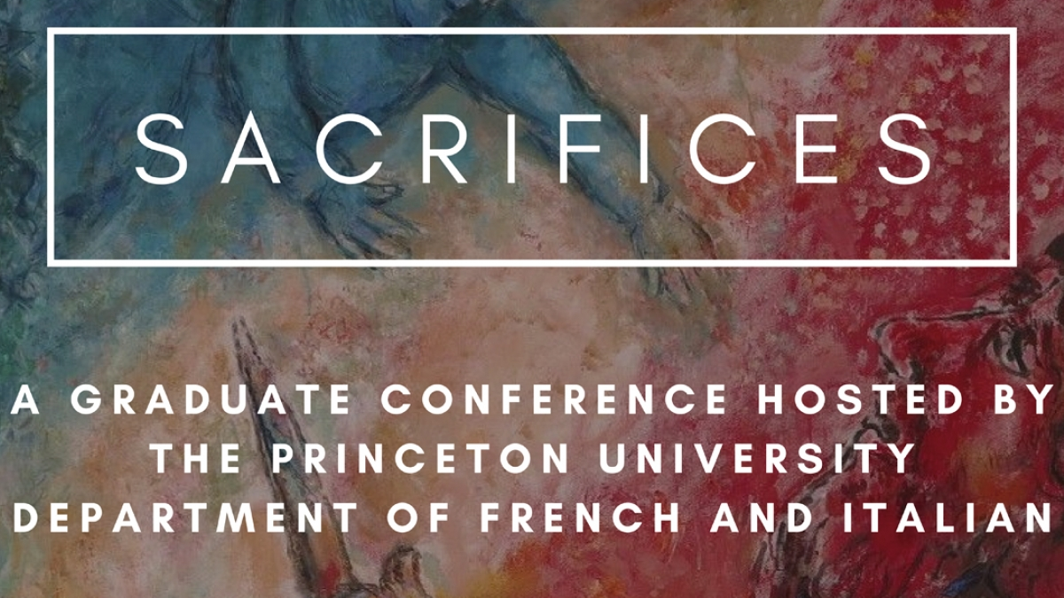 Poster for: Sacrifices, 2020 Grad conference